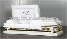 Coffin Manufacturer( White Casket In God's Care)