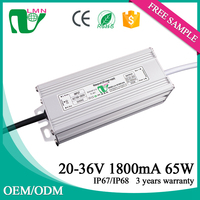 36V 1800ma Waterproof Power Supply Electronic