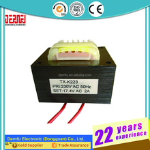 Switching Power EI Core Laminated Electronic Flyback Transformator Design For Oven