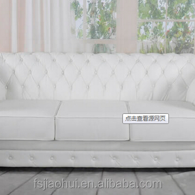 Comfortable Living Room Sofa Two seats Chesterfield Sofa
