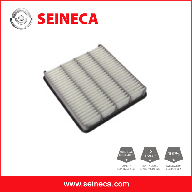 Good performance car air filter element for toyota car 17801-0S010