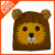 customized 100% acrylic funny knitted animal hat for children