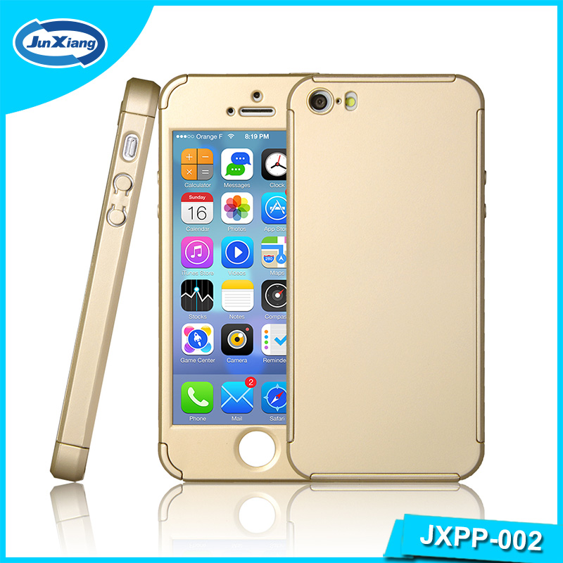 360 degree full body protective ultra thin hard PC cell phone case for iPhone 5