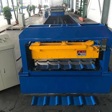 BD 840 galvanized roofing sheet roll forming machine