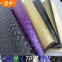 2016 Decorated PVC Leather Textiles Leather