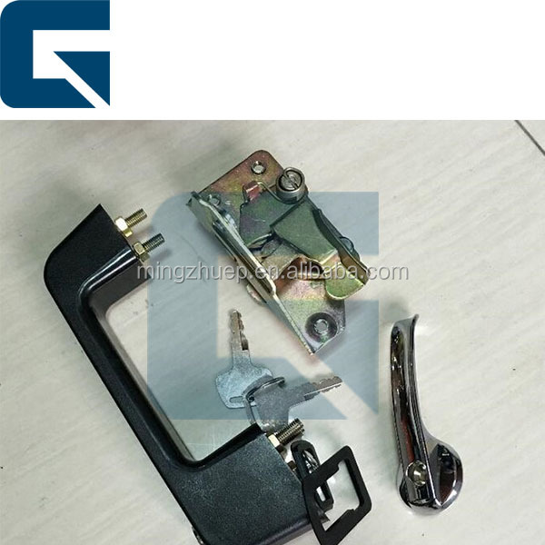 Excavator cab/cabin door lock for R200-5 R210-5 R55-7