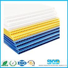 corflute plastic decorative plastic panel corrugated sheet
