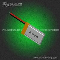 601326 130mAh 3.7v 300mah lipo battery packs