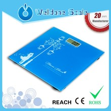 Electronic bathroom scale 180kg for home use personal with LCD display JW-307