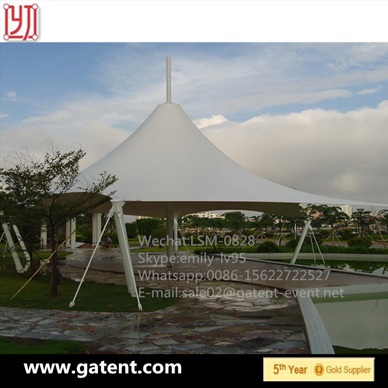 Outdoor Steel Structure Canopy Desgin Awing