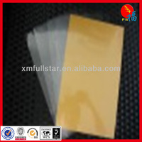 Gold PVC non-lamination for ink jet printing