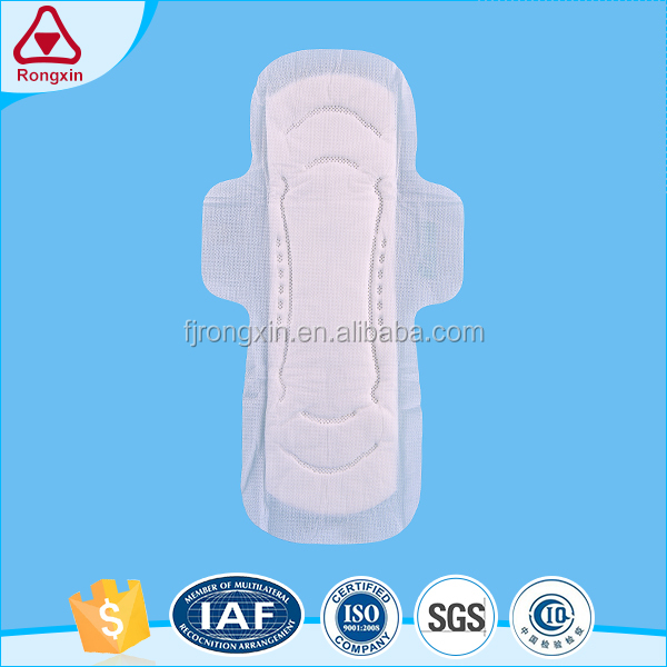Professional supplier women night use ultra thin winged extra care sanitry napkin pad