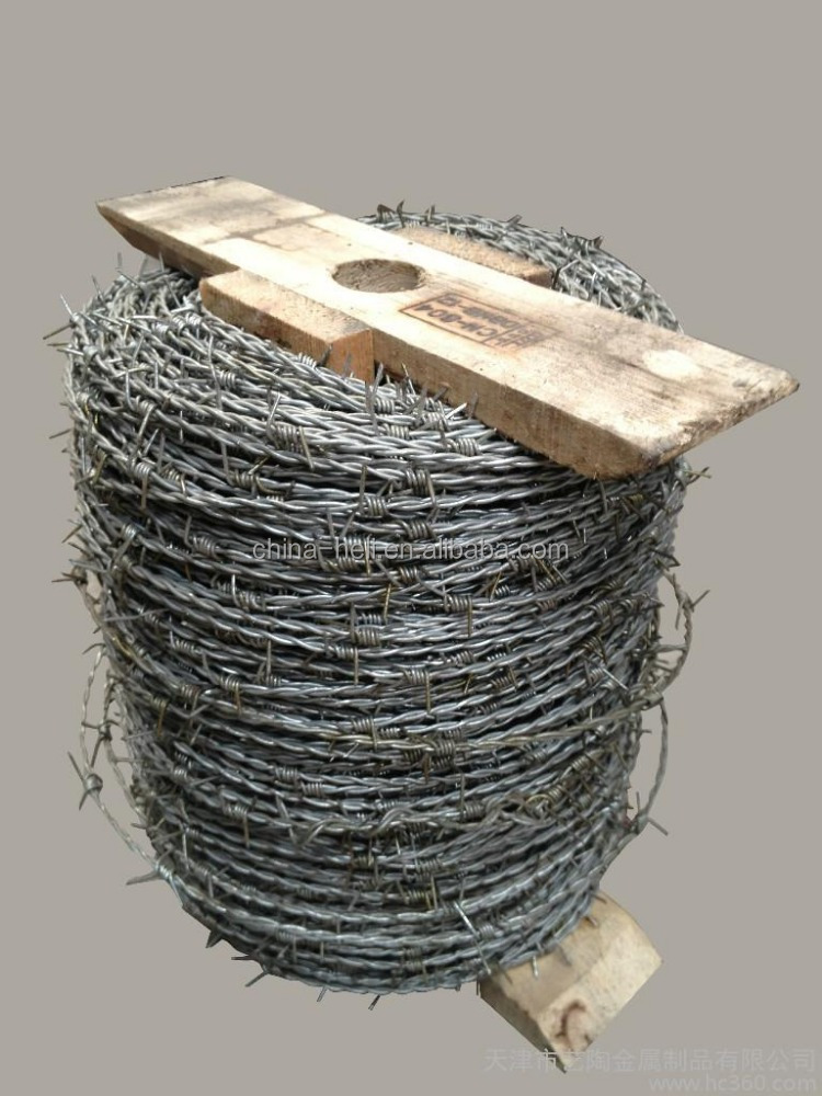 exporter 100 spacing hot dipped galvanized Iowa Barbed Wire