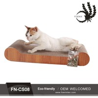 Factory cheap corrugated cat scratching post for indoor use