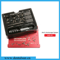 Original MCT AAS-01 Orthoplate/Titanium Anchorage System Orthodontic Plate Kit