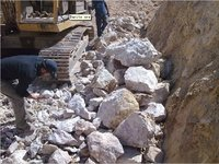 Drilling Mud Chemicals Barite Lump