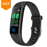 2019 New Popular Blood Pressure Heart Rate S5 Smart Band