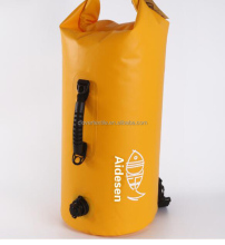 Waterproof dry bag PVC Tarpaulin 10L 20L 30L Roll Top Floating Duffle Dry Active Gear Bag
