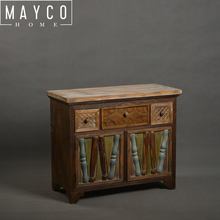 Mayco Rustic Old Wooden Chest Of Drawer