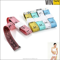 60inch printed your logo custom freeman 150cm measuring tape for promotion