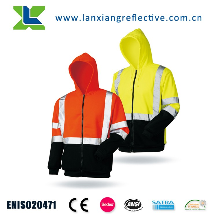AS/NZS Cotton Breathable Safety Reflective work jacket