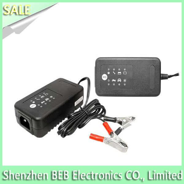 12V 0.8A ac lead acid battery charger with excellent charging functions