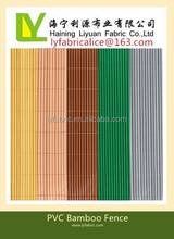 PVC bamboo fence double face balcony privacy screen 12.75mm wide 1x3m
