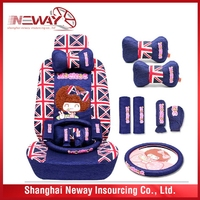 Latest Fashion top quality polyester car seats covers