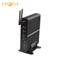 Dual NIC RJ45 Gigabit LAN Port Intel Core Fanless Windows 16GB RAM Mini PC i7 For Ditital Kiosk