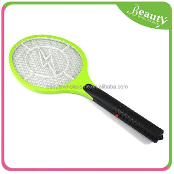 rechargeable bug zapper	,	mosquito killer /racket/swatter	,H0T018	electronic plastic mosquito swatter