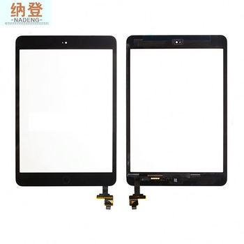 AAA quality for ipad mini touch screen glass full screen with original IC board,for ipad glass assembly