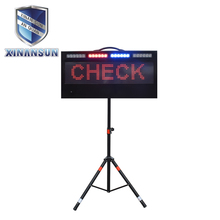 Outdoor led display board with solar powered and usb charge