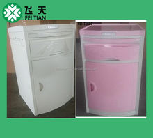 customised high quality factory supply ABS hospital bedside