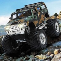 2016 best mini electric plastic rc damping hummer car for kids