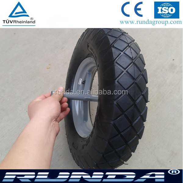 quality first of wheel barrow tire 400-8