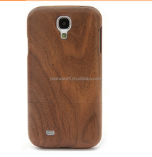 2015 new wood shell for sumsung S4 bamboo cases