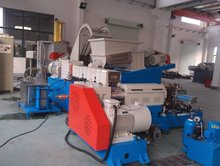 plastic and rubber masterbatch filler granules machine