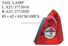 CHERY AUTO PARTS(A5) TAIL LAMP OEM :L A21-3773010; R A21-3773020