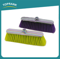 Toprank Design Heavy Duty Hand Broom With Dustpan Set Plastic Hand Broom For Home