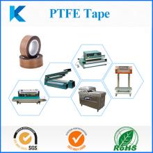 High temperature PTFE tape for plastic sealed