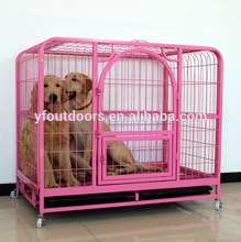 Hot sale & high quality firm dog cage with plastic pallet
