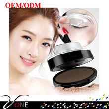 Professional cosmetics makeup eyebrow stamps, stamp eye brow powder for prvate label