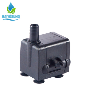 Lost cost 8W small portable electric water pump air cooler water