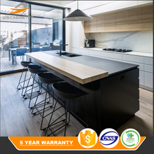 New product design price vinyl wrap kitchen cabinet