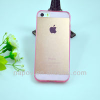 High quality Fashion clear color for iphone 5s TPU case Accessory