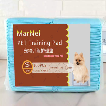 Hot sale 33*45 cm PET underpad in China factory