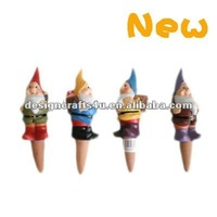 Hand Painted Gnome Terracotta Plant Waterer