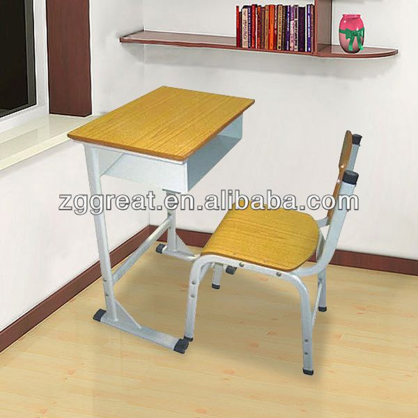 compact school furniture chair and desk,educational furniture