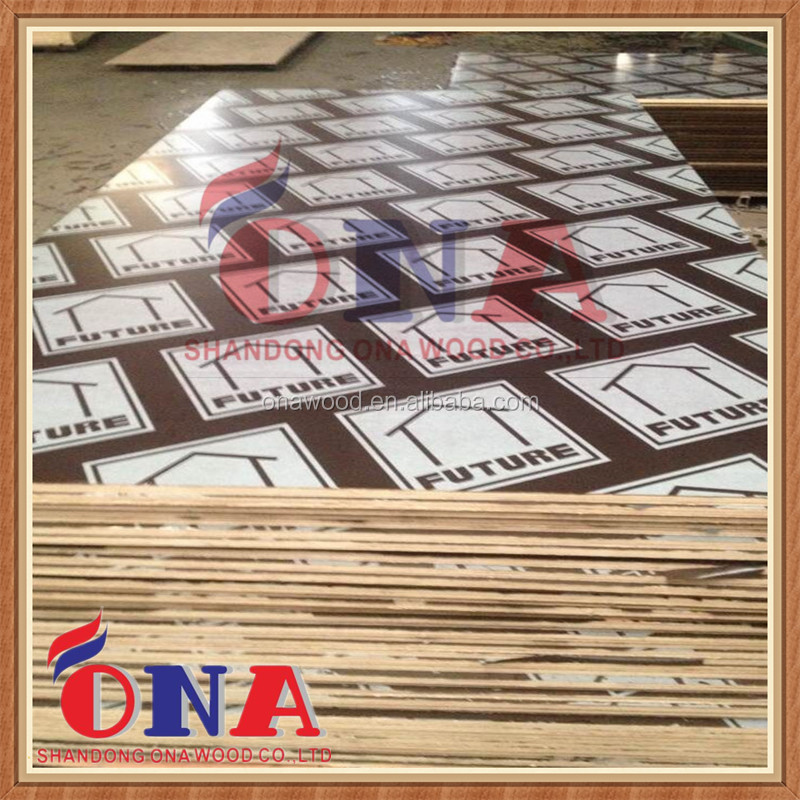 18 mm E1 formaldehyde emission standard film faced plywood of ONA