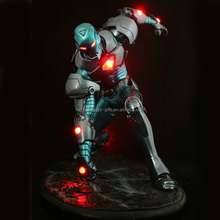 iron man with LED resin figurines